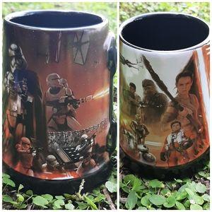 Disney Store Star Wars Black Mug Hot Chocolate